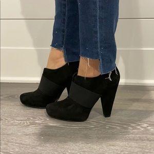 Jessica Simpson suede booties